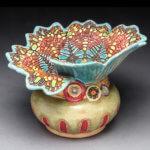 laurie pollpeter eskenazi ceramic jar